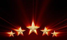 Premium five stars Stock Images