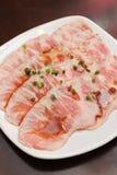 Premium Fresh Beef slices Stock Photography