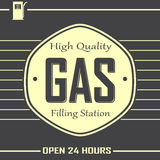 Premium Gas Service Stock Images