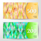 Premium Gift Voucher Template Royalty Free Stock Photos
