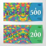 Premium Gift Voucher Template vector illustration eps 10 Royalty Free Stock Photo