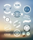 Premium and High Quality Label / Icon Royalty Free Stock Photo