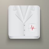 Premium Icon medical uniforms Stock Images