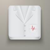 Premium Icon medical uniforms Stock Images