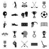 Premium icons set, cartoon style. Premium icons set. Cartoon set of 25 premium vector icons for web isolated on white background Stock Photo