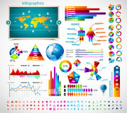 Premium infographics master collection: Royalty Free Stock Photos
