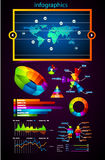 Premium infographics master collection Stock Image
