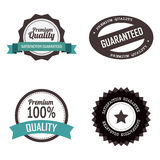 Premium labels Royalty Free Stock Photo