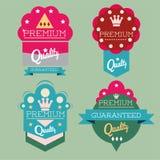 Premium labels Royalty Free Stock Images