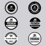 Premium labels Stock Photography