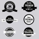Premium labels Stock Photo