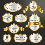Premium labels set collection Royalty Free Stock Images