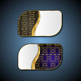 Premium Luxury cards,Retro Backgrounds. Royalty Free Stock Images