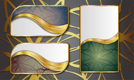 Premium Luxury cards,Retro Backgrounds. Blank for message or text Royalty Free Stock Photography