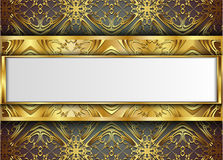 Premium Luxury cards,Retro Backgrounds. Blank for message or text Royalty Free Stock Image