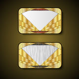 Premium Luxury cards,Retro Backgrounds.blank for message or text.polygon Royalty Free Stock Images