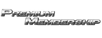 Premium Membership Sign Stock Image
