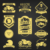 Premium Motorcycle Vintage Label Royalty Free Stock Photo