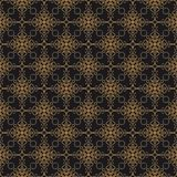 Luxury ornate abstract background in colors of gold and black. Premium oriental vector seamless pattern. Luxury abstract background in colors of gold and black vector illustration