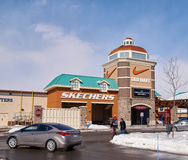 Premium Outlets in Montreal. Royalty Free Stock Photography