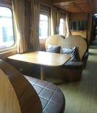 Premium passenger cabin on SRT Prestige at Hualumphong Main Railway Station Thailand Royalty Free Stock Photography