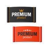 Premium product clothing label Stock Images
