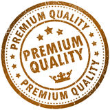 Premium quality. Stamp isolated on white Royalty Free Stock Images