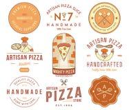 Premium quality artisan handmade pizza Stock Photography