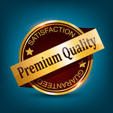 Premium Quality Badge Royalty Free Stock Photography