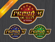 PREMIUM QUALITY Badge sticker logo label Royalty Free Stock Images