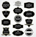 Premium quality badges Stock Photos