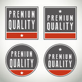 Premium quality  badges and seals Stock Photography