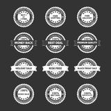 Premium Quality Badges Set Royalty Free Stock Image