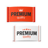 Premium quality clothing label Royalty Free Stock Photos