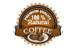 Premium quality coffee Royalty Free Stock Image