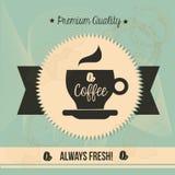 Premium quality  coffee Royalty Free Stock Photography