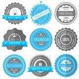 Premium quality, guarantee badges  Royalty Free Stock Photography