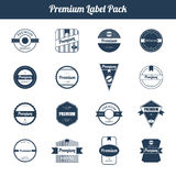Premium Quality and Guarantee Product Label and Badge Royalty Free Stock Photos