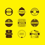 Premium Quality and Guarantee Product Label and Badge Stock Images