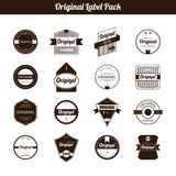 Premium Quality and Guarantee Product Label and Badge Royalty Free Stock Photo