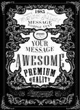 Premium Quality. Guarantee  typography design Stock Images