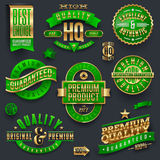 Premium Quality and guaranteed labels royalty free illustration