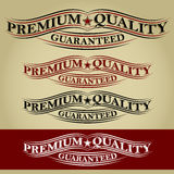 Premium Quality Guaranteed Retro Calligraphic Ribb Stock Images