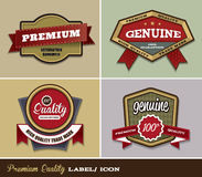 Premium Quality Label/ Icon Stock Photos
