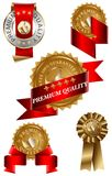Premium Quality Label Set Royalty Free Stock Photos