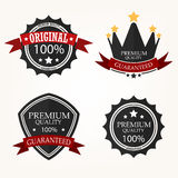 Premium Quality Label sets Royalty Free Stock Image