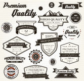 Premium Quality Labels Royalty Free Stock Photos
