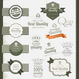 Premium Quality labels Stock Photo