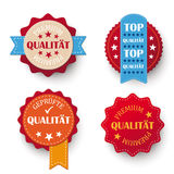 Premium Quality Labels Stock Photography