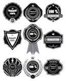 Premium Quality Labels with retro design . Stock Photos
